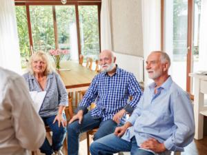 Gruppentherapie Senioren