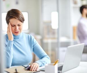 Trotz Migräne arbeiten